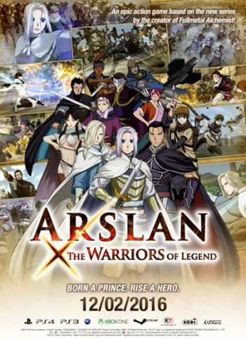 ARSLAN: THE WARRIORS OF LEGEND (2016) PC