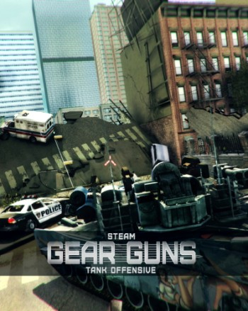 GEARGUNS - Tank offensive (2016) PC