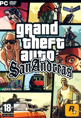 GTA / Grand Theft Auto: San Andreas - Real Cars 2014 (2005) PC