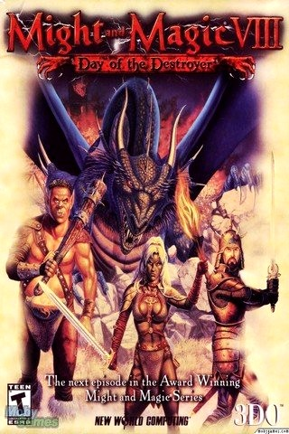 Might and Magic 8: Day of the Destroyer (2000) PC