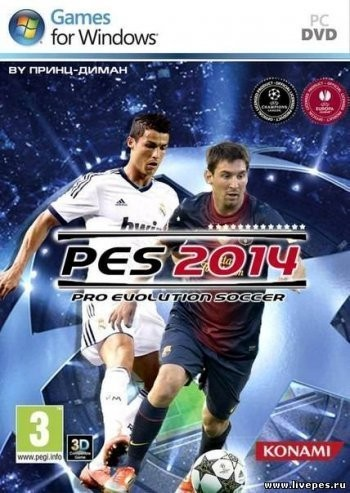 PES 2014 / Pro Evolution Soccer 2014 (2013) (PC/RUS)