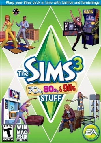 The Sims 3: 70s 80s & 90s Stuff (2013) PC