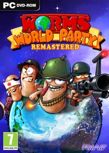 Worms World Party Remastered (2015) PC